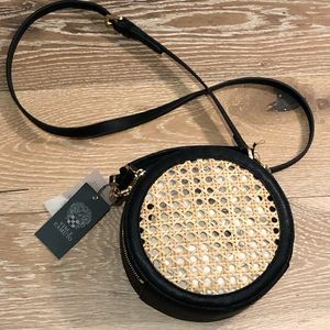 ❤️NWT VINCE CAMUTO CHICA CANTEEN LEATHER BAMBOO